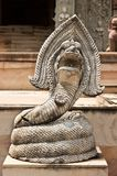 Naga statue . Royalty Free Stock Images