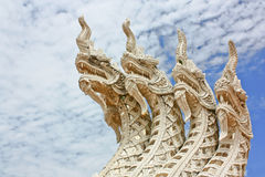 A Naga statue Royalty Free Stock Images