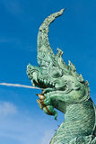 Naga statue Royalty Free Stock Photo
