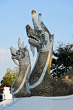 Naga statue Stock Photo