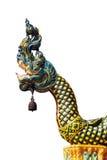 Naga Statue isolate Stock Images