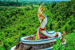 Naga statue Royalty Free Stock Image