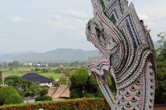 Naga statue Royalty Free Stock Images