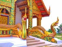 Naga statue pair Stock Image