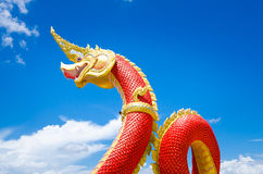 Naga statues Royalty Free Stock Photography