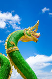 Naga statues Stock Photo