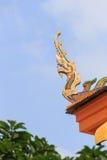 Naga Tailandia dell'oro Immagine Stock