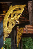 Naga temple Thailand. Thailand is a source of knowledge on architecture, history, traditions, art, morals stock photography