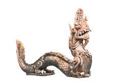 Naga Thai sculpture Stock Photos