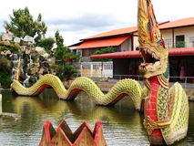 Naga thai wat nongyai Stock Photography