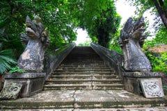 Naga-Treppenhaus stockbilder
