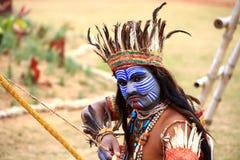 Naga warrior Stock Photography