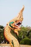 Naga at Wat Nong Wang Stock Photo