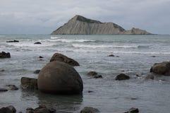 Naga wyspa (Kura) Hawke zatoka nowe Zelandii Obraz Royalty Free