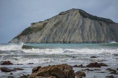 Naga wyspa (Kura) Hawke zatoka nowe Zelandii Fotografia Stock
