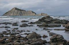 Naga wyspa (Kura) Hawke zatoka nowe Zelandii Obrazy Stock