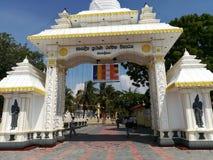 Nagadeepaya tample of buddha Stock Photos