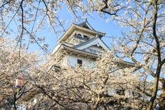 Nagahama Japan museum av historia arkivfoto