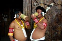 nagaland Индии hornbill празднества Стоковые Фото