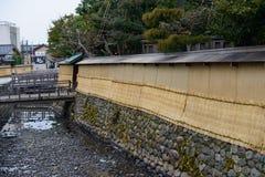 Nagamachi Samurai District in Kanazawa, Japan Royalty Free Stock Photos