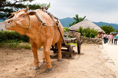 Nagan folk village South Korea Royalty Free Stock Image