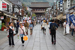 Nagano Japan Arkivfoto