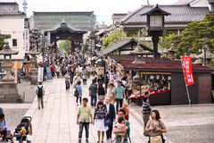 Nagano, Japan Royalty Free Stock Photography
