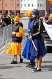 Nagar Kirtan Sikh procession Royalty Free Stock Photos