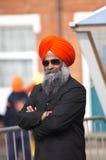 Nagar Kirtan Sikhprozession Stockfotografie