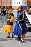 Nagar Kirtan Sikhprozession Lizenzfreie Stockfotografie