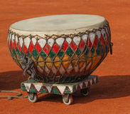 Nagara drum. The nagara or naghara is the most widespread of the membranophone instruments. There are several types of naghara, which is considered to be the royalty free stock photo
