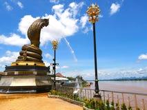 Nagaraj bei Nakorn Phanom Thailand Stockbilder