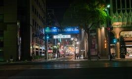 Nagarekawa-Bezirk Lizenzfreies Stockbild