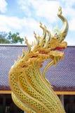 Nagas золота в Таиланде Стоковые Изображения