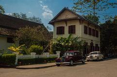3 Nagas hotelowy Luang Prabang, Laos Obrazy Royalty Free