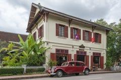 3 Nagas-Luang Prabang MGallery Hotel durch Sofitel Stockbild