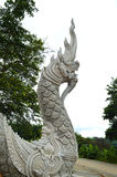 Nagas thai dragon statue Stock Image