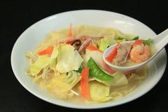 Nagasaki chanpon noodles Royalty Free Stock Image