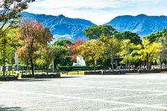 Nagasaki fred parkerar fotografering för bildbyråer