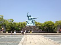 Nagasaki fred parkerar royaltyfri fotografi