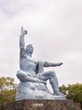 Nagasaki-Friedensmonument Stockfotografie