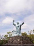 Nagasaki-Friedensmonument Stockbilder