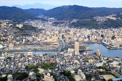 Nagasaki hamn Fotografering för Bildbyråer