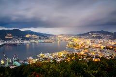 Nagasaki Japan Cityscape Stock Photography