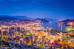 Nagasaki, Japan Downtown Skyline Stock Photos