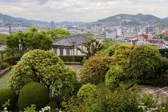 Nagasaki Japan, Glover Garden royaltyfri foto