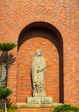 Nagasaki, Japan - 14JUL2018: Statue of the Virgin Mary at Uraka royalty free stock image