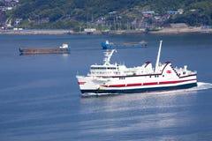 Nagasaki, Japan - SEPTEMBER 27: ships in port of NAGASAKI, JAPAN Royalty Free Stock Image
