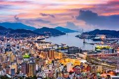 Free Nagasaki, Japan Skyline Stock Photo - 90984930