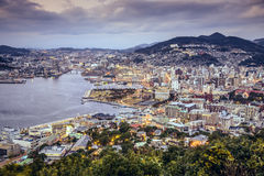 Nagasaki, Japan Skyline Royalty Free Stock Images